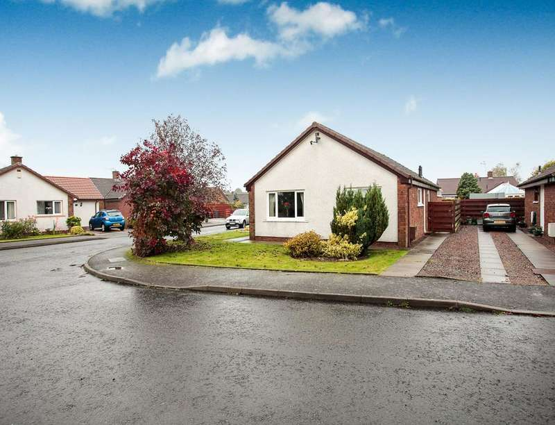 3 Bedrooms Detached Bungalow for sale in Fair Gardens, Heathhall, Dumfries, DG1