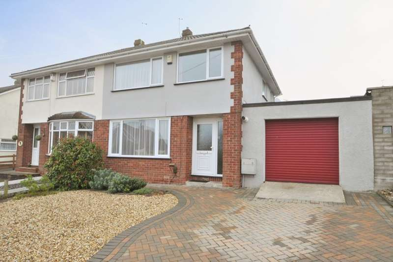 3 Bedrooms Semi Detached House for sale in Lacey Road, Stockwood, Bristol, BS14