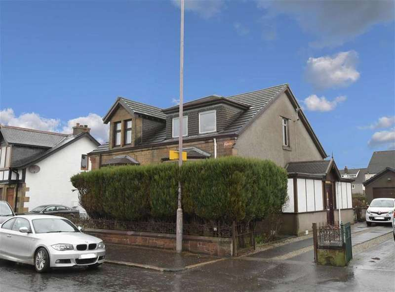 4 Bedrooms Semi Detached House for sale in Broadloan, Renfrew