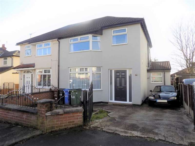 3 Bedrooms Semi Detached House for sale in The Drive, Bredbury, Stockport
