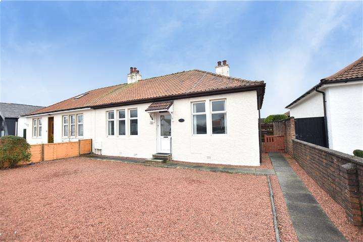 2 Bedrooms Semi Detached Bungalow for sale in 78 Berelands Road, Prestwick, KA9 1ER
