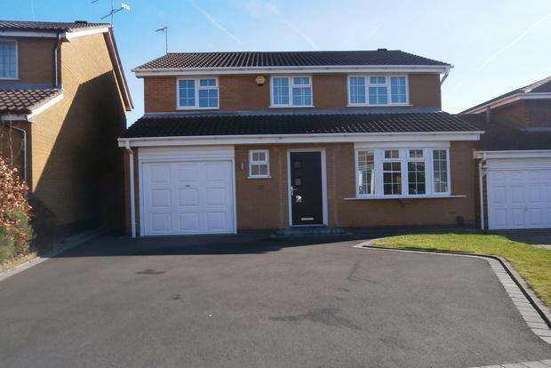 4 Bedrooms Detached House for sale in Bedford Drive, Groby, Leicester, LE6