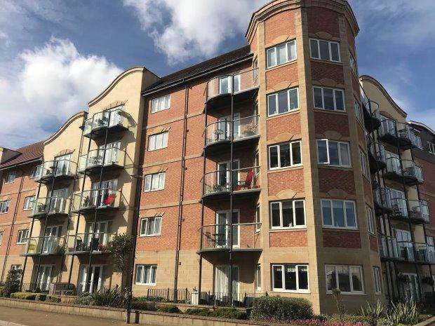 2 Bedrooms Flat for sale in TRAFALGAR HOUSE, MARINA, HARTLEPOOL