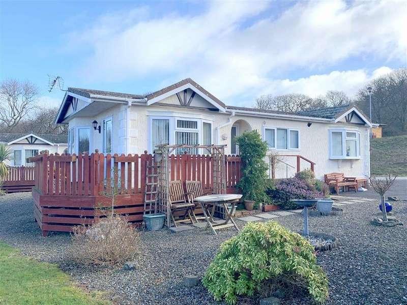 3 Bedrooms Park Home Mobile Home for sale in Schooner Park, New Quay, Ceredigion