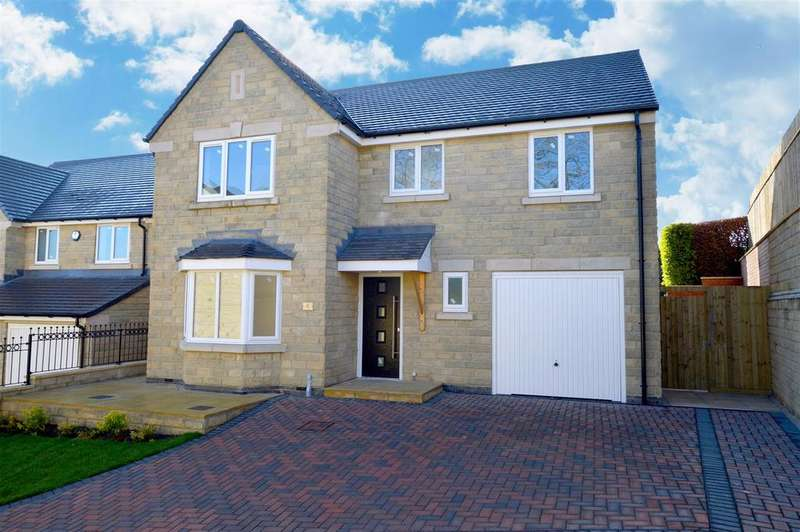 4 Bedrooms Detached House for sale in The Laurels, Tarry Fields Court, Crich, Derbyshire