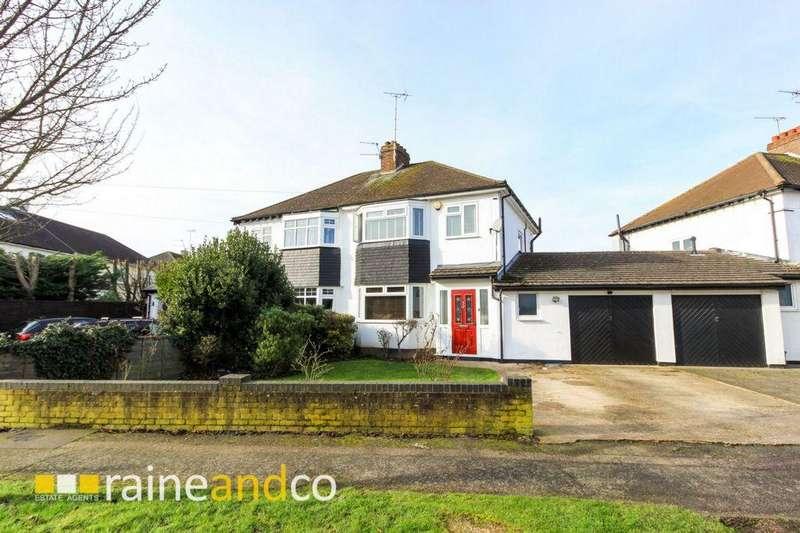 3 Bedrooms Semi Detached House for sale in Bramble Road, Hatfield, AL10