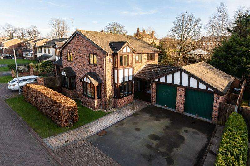 4 Bedrooms Detached House for sale in Meadowvale Close, Nantwich