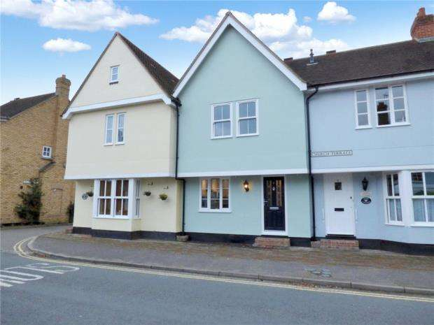 2 Bedrooms Terraced House for sale in Church Terrace, Bures, Suffolk