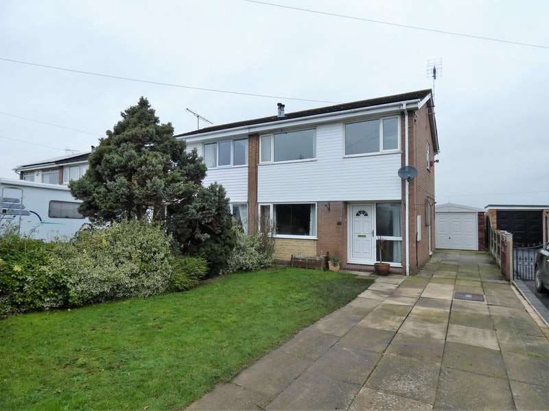 3 Bedrooms Semi Detached House for sale in Willow Drive, Sandbach, Cheshire, CW11