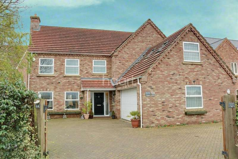 5 Bedrooms Detached House for sale in Burrettgate Road, Walsoken