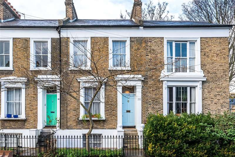 3 Bedrooms Terraced House for sale in Evandale Road, London, SW9
