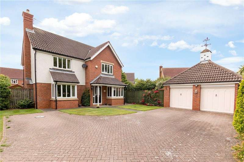 4 Bedrooms Detached House for sale in Preston Way, Stokesley, North Yorkshire