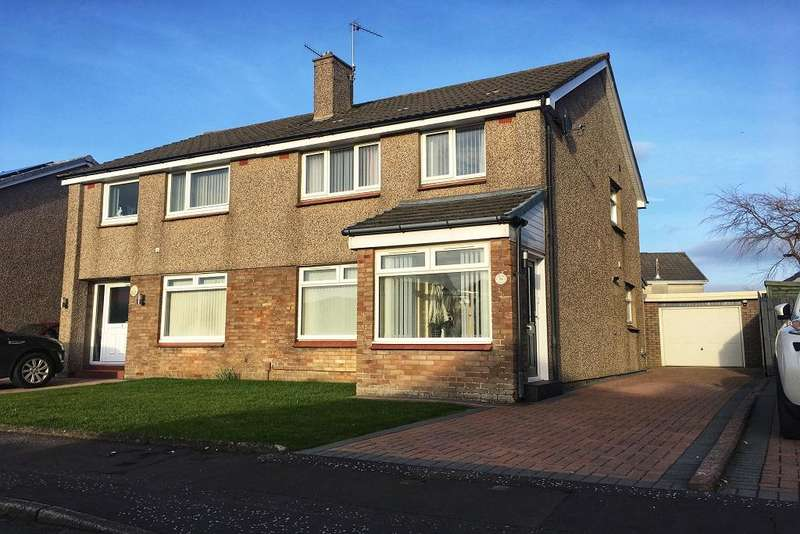 3 Bedrooms Semi Detached House for sale in Lugar Place, Troon KA10