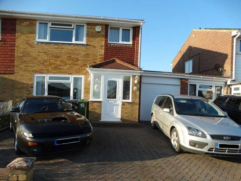 3 Bedrooms Semi Detached House for sale in Jellicoe Close, Langney Point