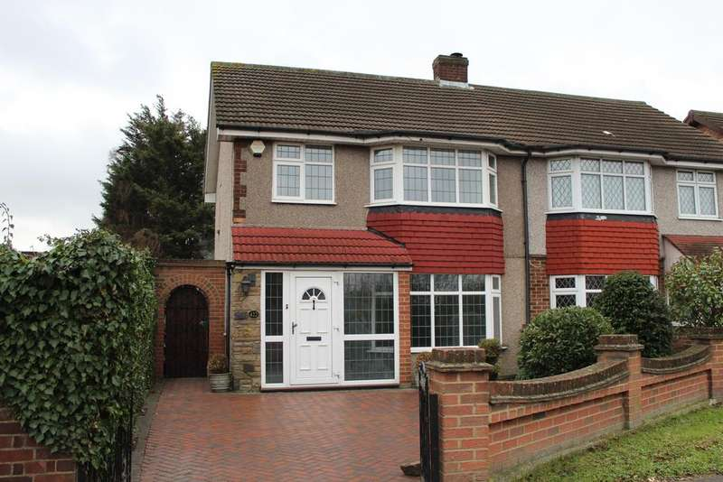 3 Bedrooms Semi Detached House for sale in Rainham Road, South Hornchurch
