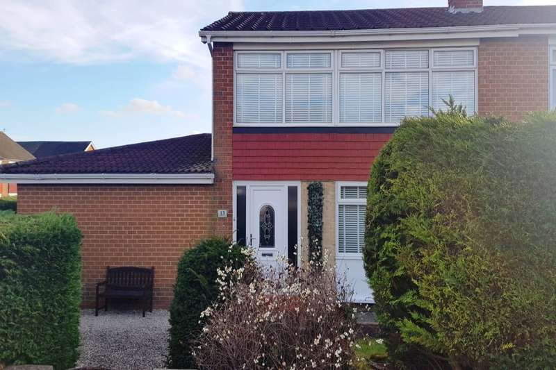 3 Bedrooms Semi Detached House for sale in Malcolm Drive, Stockton-On-Tees, TS19