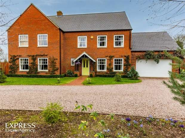 5 Bedrooms Detached House for sale in Kirkgate, Tydd St Giles, Wisbech, Cambridgeshire