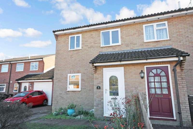 3 Bedrooms Semi Detached House for sale in Gardeners Green, Shipton Bellinger