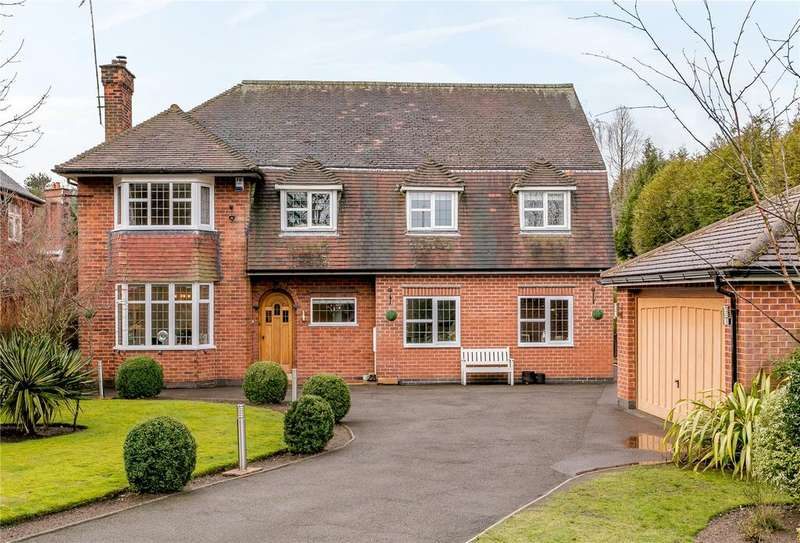 4 Bedrooms Detached House for sale in Mansfield Road, Ravenshead, Nottingham, NG15