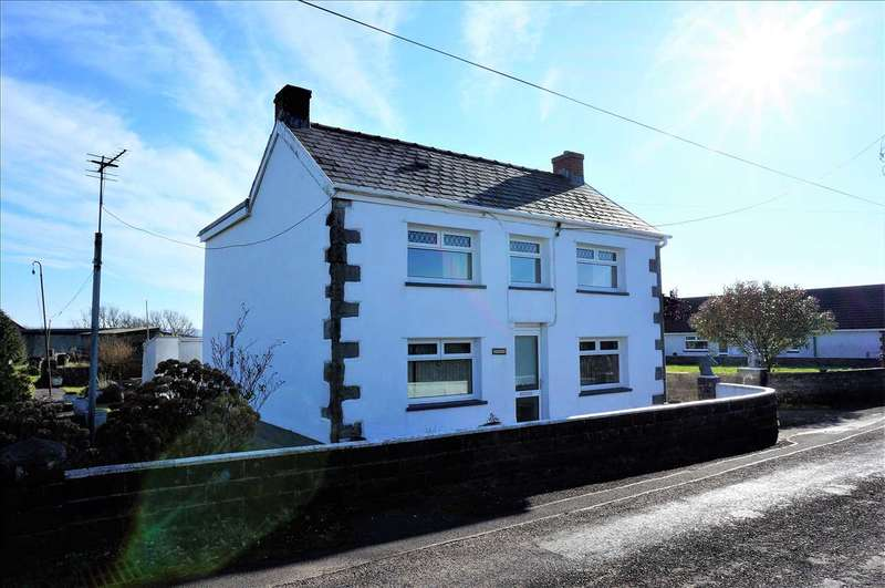 4 Bedrooms Detached House for sale in Banc Y Ffynnon, Maesglas Road, Penygroes, Llanelli