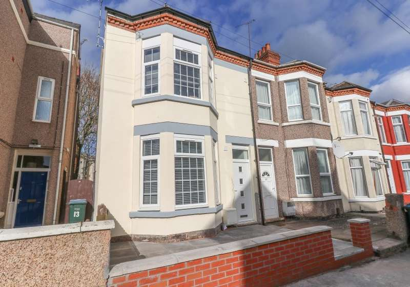 5 Bedrooms End Of Terrace House for sale in Flats 1-5, Ellys Road, Coventry, West Midlands, CV1 4EW