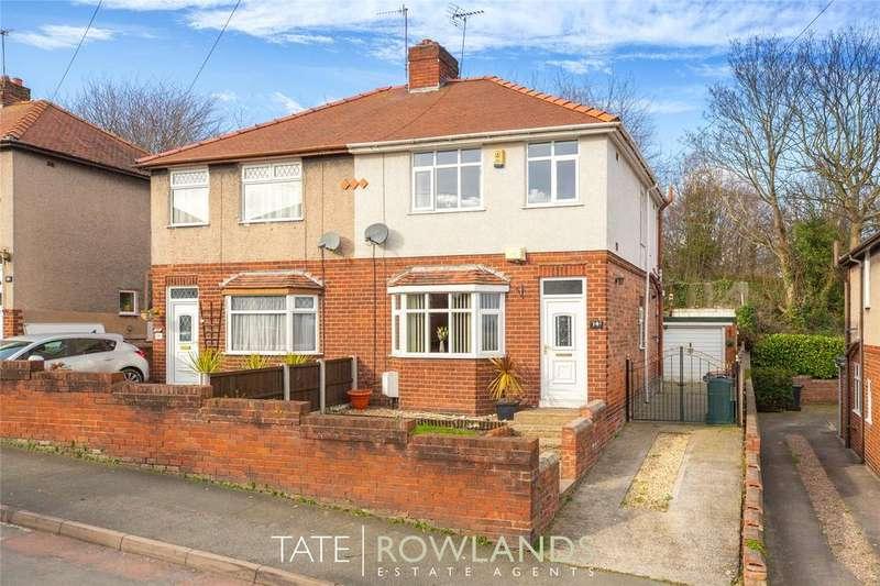 3 Bedrooms Semi Detached House for sale in Wern Avenue, Bagillt, Flintshire, CH6
