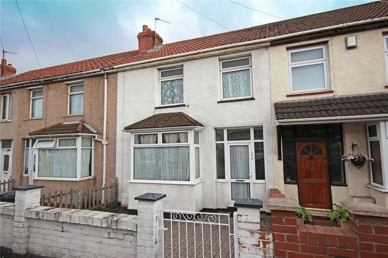 3 Bedrooms Terraced House for sale in Glenfrome Road, Eastville, Bristol, BS5