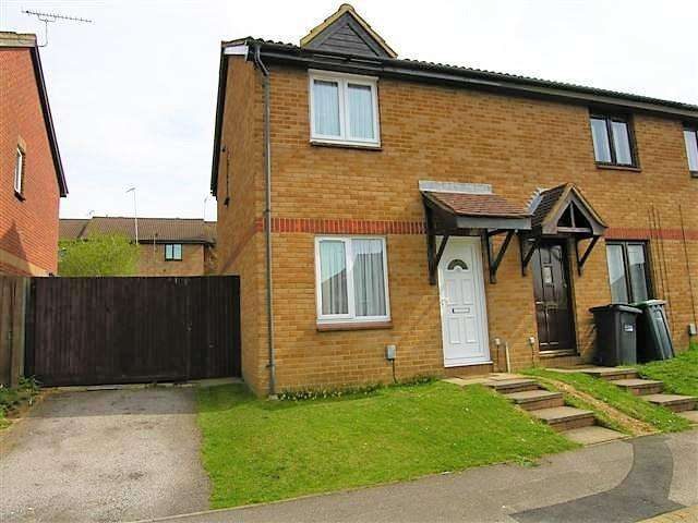 2 Bedrooms End Of Terrace House for sale in Gilderdale, Luton, Bedfordshire, LU4 9NA