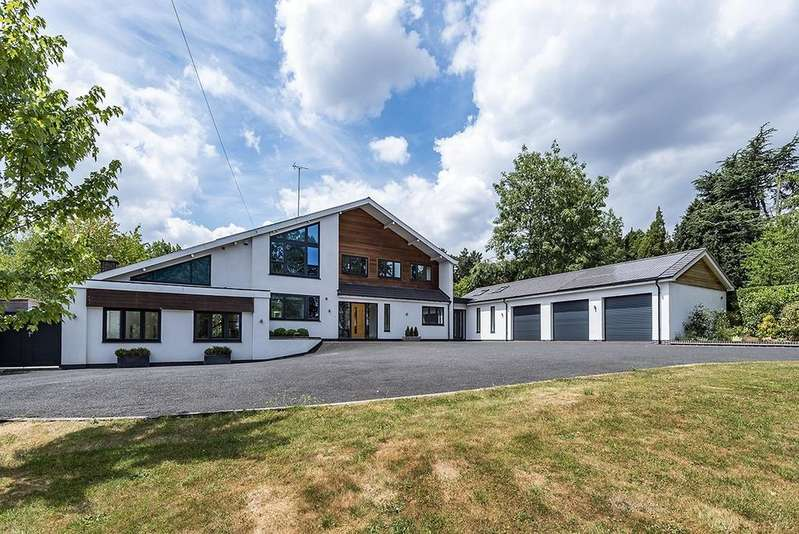 5 Bedrooms Detached House for sale in Old Station Road, Hampton-in-Arden, Solihull, B92