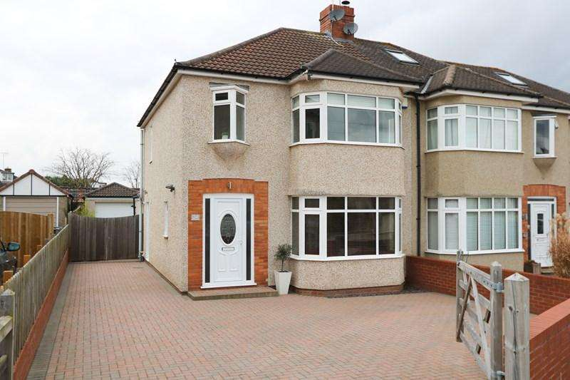 3 Bedrooms Semi Detached House for sale in Rodney Road, Saltford, Bristol
