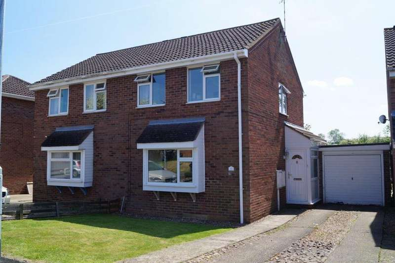 2 Bedrooms Semi Detached House for sale in Eagles Drive, Melton Mowbray