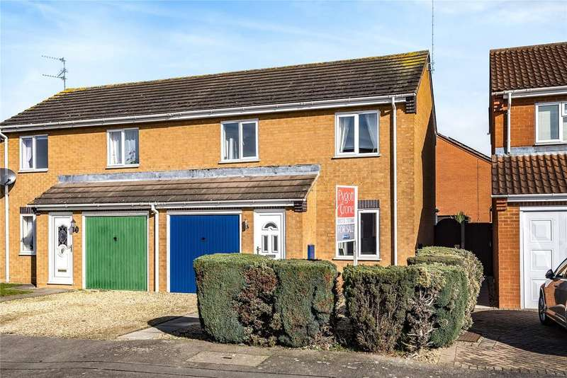 3 Bedrooms Semi Detached House for sale in Nicolette Way, Spalding, PE11
