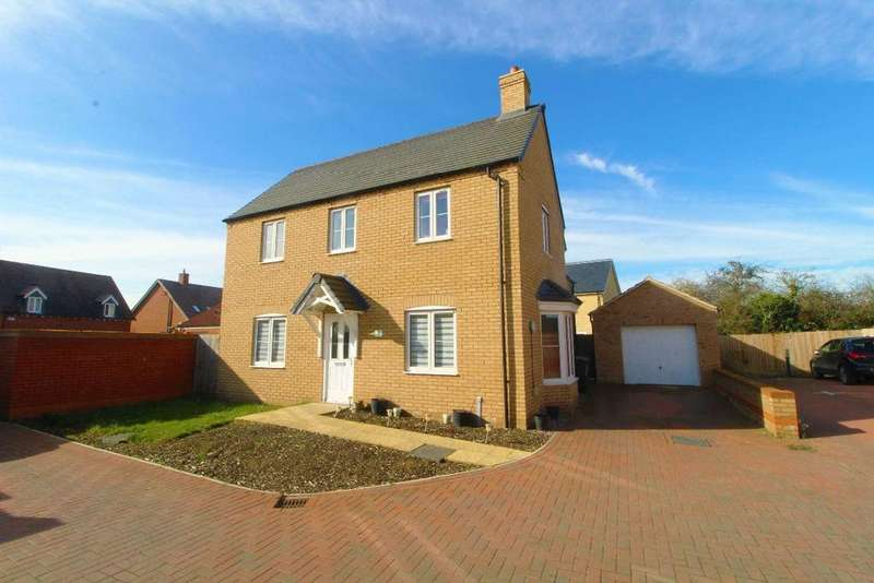 4 Bedrooms Detached House for sale in Thillans, Cranfield, Bedfordshire, MK43 0FZ