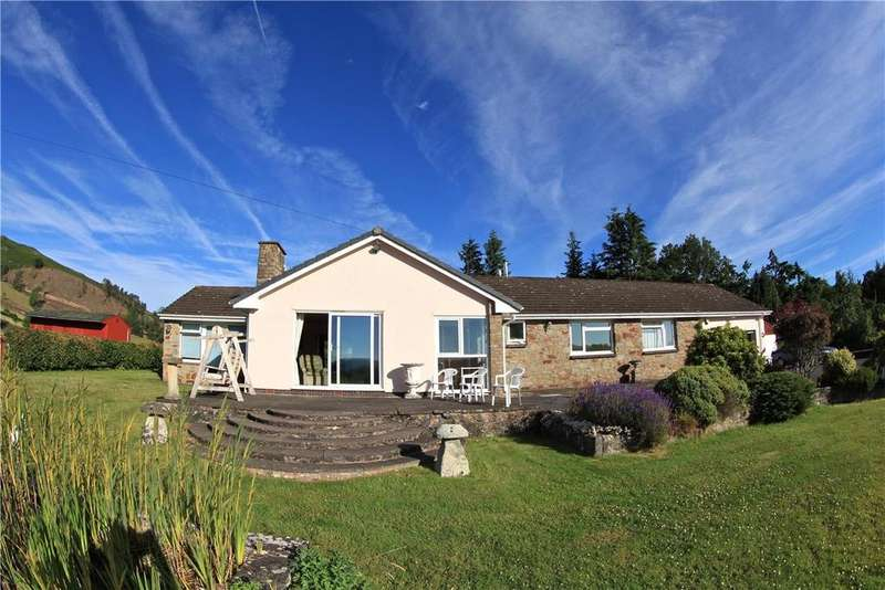 3 Bedrooms Detached Bungalow for sale in Llanwrthwl, Llandrindod Wells, Powys, LD1