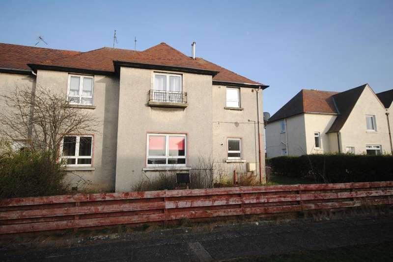 3 Bedrooms Ground Flat for sale in Mossgiel Avenue, Troon KA10