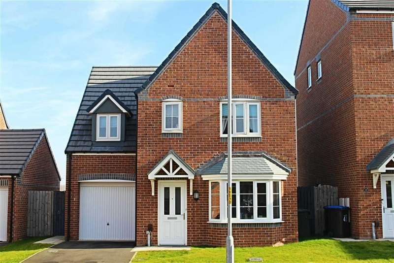 4 Bedrooms Detached House for sale in Scholars Rise, Middlesbrough