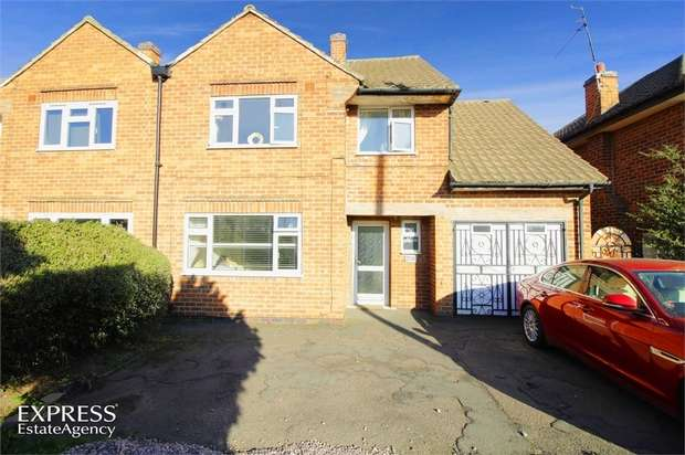 3 Bedrooms Semi Detached House for sale in Leicester Road, Loughborough, Leicestershire