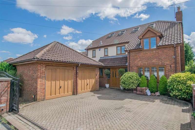 5 Bedrooms Detached House for sale in Derby Road, Dobbs