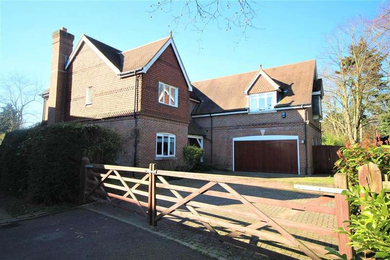 5 Bedrooms Detached House for sale in Segrave Close, Sonning, Reading