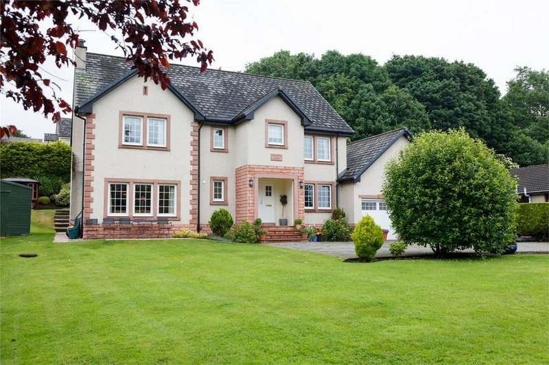 6 Bedrooms Detached House for sale in Wellside House, Viewfar Road, Milnathort, Kinross-shire