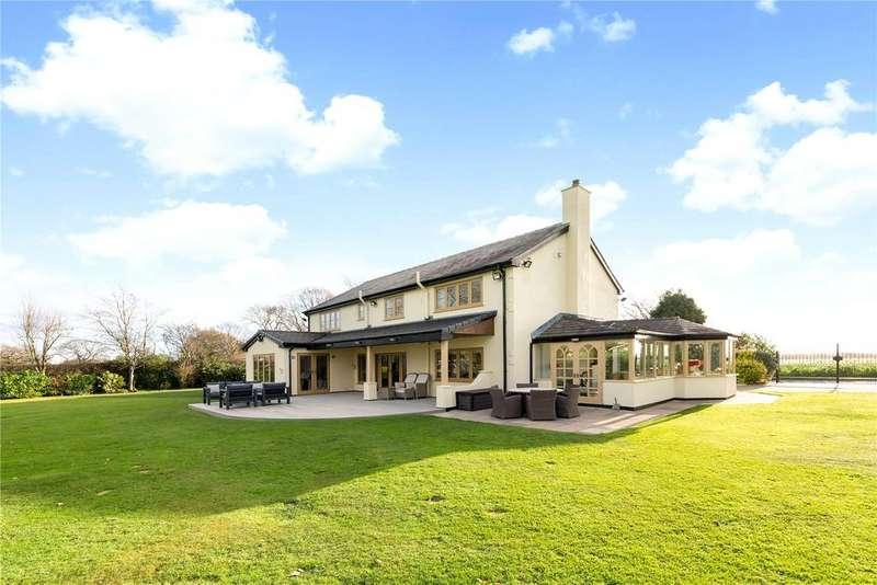 4 Bedrooms Detached House for sale in Wildings Old Lane, Croft, Warrington, WA3