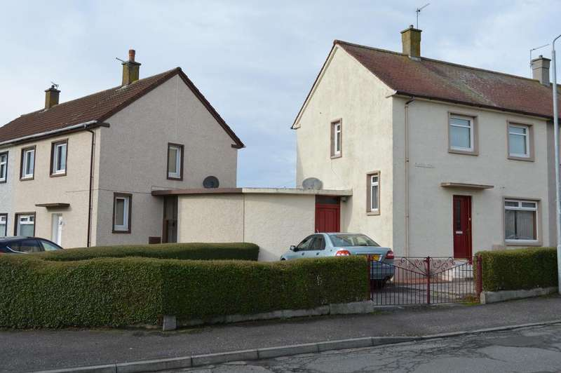 2 Bedrooms Semi Detached House for sale in PLADDA ROAD , SALTCOATS KA21