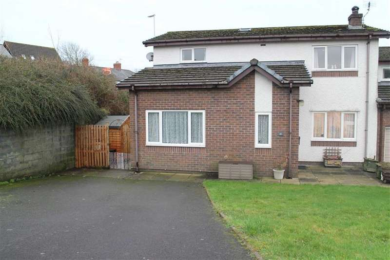 4 Bedrooms Link Detached House for sale in Maes Afallen, Bow Street