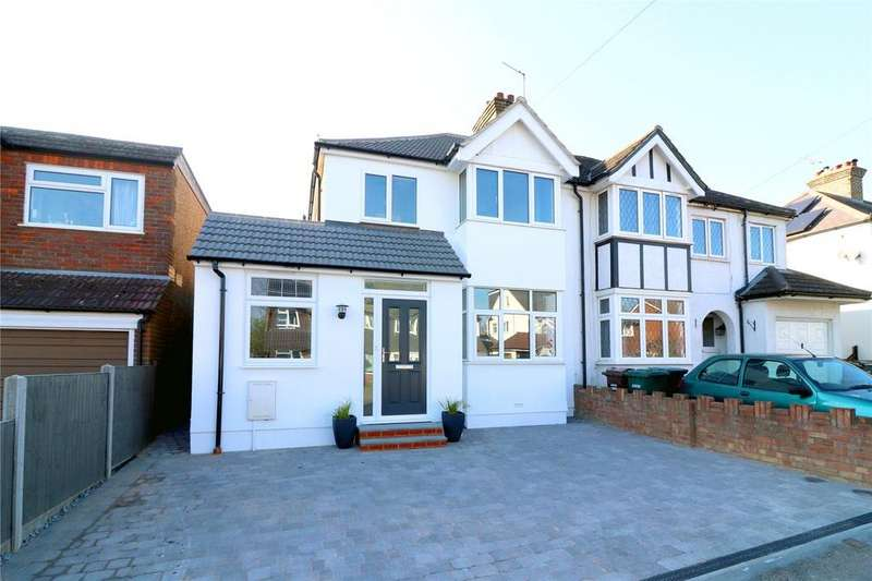 4 Bedrooms Semi Detached House for sale in The Crescent, Abbots Langley, Herts, WD5