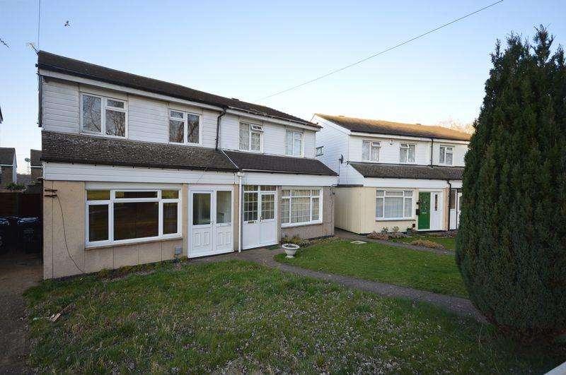 3 Bedrooms Semi Detached House for sale in Hurlock Way, Luton