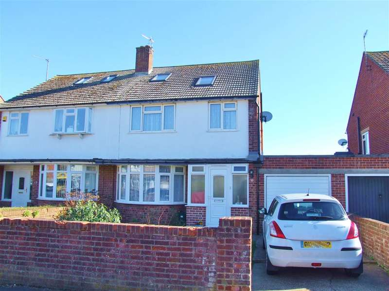 4 Bedrooms Semi Detached House for sale in Bridgemere Road, Eastbourne