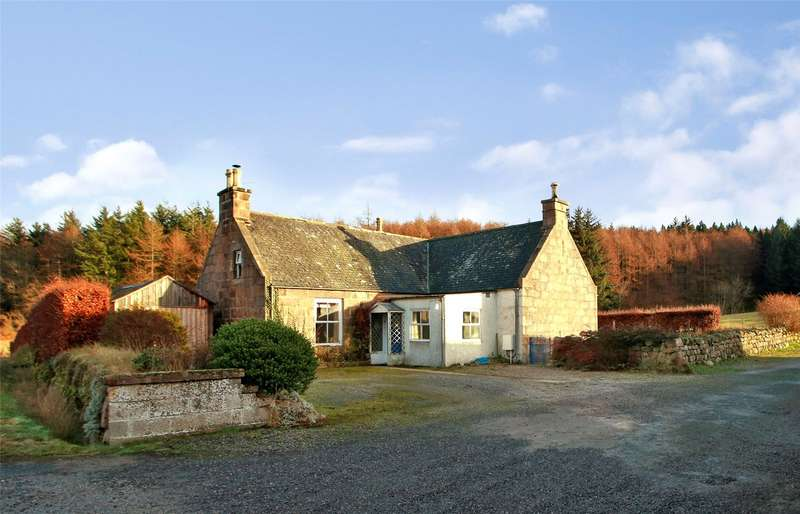 4 Bedrooms Detached House for sale in Meikle Tulloch Farmhouse, Durris, Banchory, Aberdeenshire, AB31