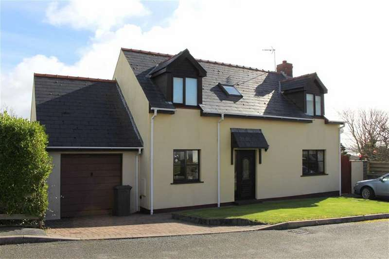 4 Bedrooms Detached House for sale in Liddeston Close, Liddeston, Milford Haven