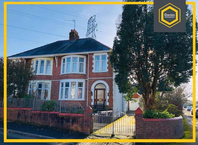 4 Bedrooms Semi Detached House for sale in Aelybryn Drive, Llanelli, Llanelli, SA15