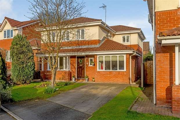 5 Bedrooms Detached House for sale in Portside Close, Worsley, Manchester